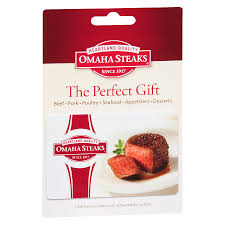 omaha steaks non denominational gift card1 0 ea