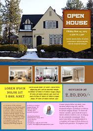 open house flyers template broker open house flyer templates