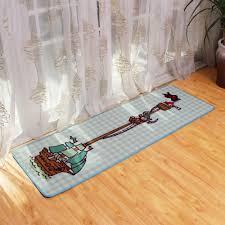 Mode Cartoon Pirate Boot Muster Küche Teppich Läufer Rutschfeste