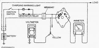 2001 mitsubishi diamante alternetor electrical problem 2001 could be chec the b terminal to see if it s tight be carefull if you ground it accidentally you could trip a fuse or burn out a fuse link