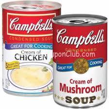 campbell s cream of mushroom soup. Interesting Campbell Campbellscreamofmushroomandchicken Coupon Inside Campbell S Cream Of Mushroom Soup 0