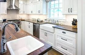white tiles grey grout kitchen white brick tiles kitchen kitchen dark wood kitchen cabinet grey tile
