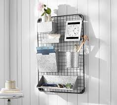 wall organizers home office. Antique Zinc All-In-One Organizer Wall Organizers Home Office I