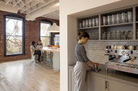 office coffee bar furniture. Interesting Office Coffee Bar Furniture AirBNB Portland Creative Studio Space Home Designs