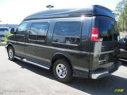 Dark Gray Metallic 2005 Chevrolet Express 1500 Passenger ...