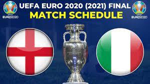 UEFA Euro 2020 (2021) Final Match Schedule