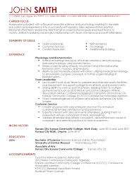 Entry Resume For Hunter Johnson My Perfect Resume