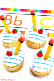 Cupcake Ideas For Bake Sale The Best Back To School Cupcakes School Supplies Natural Beach