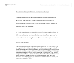argumentative essay cosmetic surgery u3 argumentative essay cosmetic surgery jookwang lee