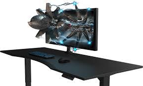 gaming computer desk. Modren Desk Starting At 599 Evodesk Standing Desk Evolution To Gaming Computer Desk L