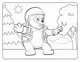 Small Picture Special Agent Oso Coloring Pages Coloring Coloring Pages