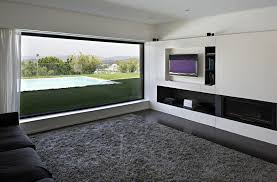 Contemporary Home Modern Circles Design Living Room Bedroom Area Black Living Room Rugs