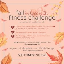 Group Fitness Challenge Tracker Sign Up For The Fall Fitness Challenge