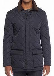 Ralph Lauren Men's Quilted Raincoat Water Repellent Jacket Coat ... & Picture 10 of 11 ... Adamdwight.com