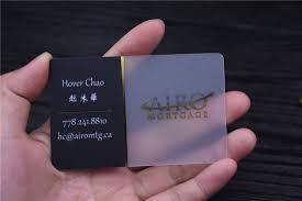 Translucent Plastic Business Cards Transparent Business Cards Clear Business Cards Free