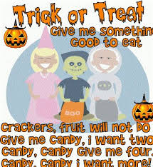 funny quote trick or treat for halloween
