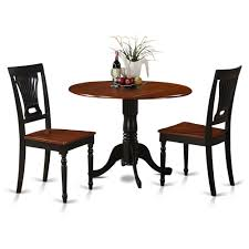 3 Piece Small Kitchen Table And Chairs Set Round Table And Kitchen