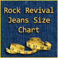 Rock And Republic Jeans Size Chart 29 Surprising Rock Revival Jeans Sizing