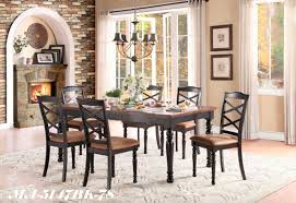 6 chair dining table set moreover vine home style