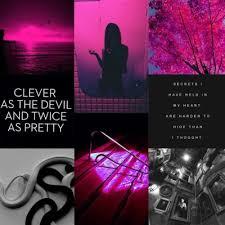 pink and black gemini aesthetic | Tumblr