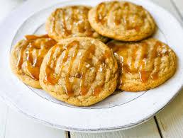 salted caramel cookies modern honey