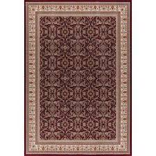 williams collection izmir red 8 ft x 11 ft area rug