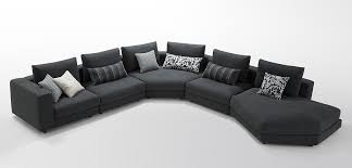 black fabric sectional sofas. Plain Fabric On Black Fabric Sectional Sofas O