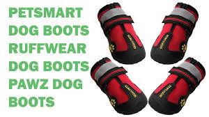 Qumy Dog Boots Size Chart Petsmart Dog Boots Ruffwear Dog Boots Pawz Dog Boots Youtube