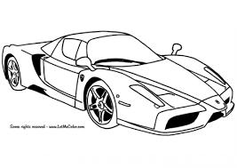 Ferrari Enzo Auto Kleurplaat Gratis Kleurplaten Printen Met