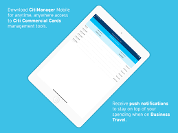 citimanager corporate cards by