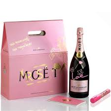 send moet chandon presents your love gift pack magnum size gift
