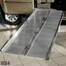 scg x silver spring aluminum single fold wheelchair ramp 3