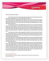 letterhead in word format letterhead template word
