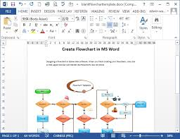 flowchart in word microsoft word flowchart template oyle kalakaari co