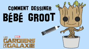Comment Dessiner B B Groot Dessin Coloriage Pinterest Bebe