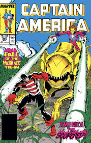 The Marvel Comics Guide: CAPTAIN AMERICA READING ORDER: The Captain  (1986-1989)