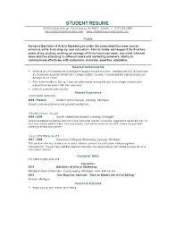 Resume Builder Student