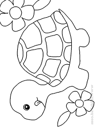 Cute Coloring Pictures Of Baby Animals Coloring Pages