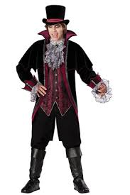 Great Menu0027s Vampire Deluxe Costume