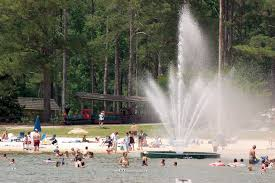 robin lake beach at callaway gardens