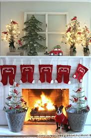 Amazing christmas fireplace mantel decoration ideas Merry The White Mantel Provides The Best Background For The Pops Of Red Color The Hangingwash Pyjama Bottom Idea Is Innovative Amazing And Easytodo Merry Christmas 2019 Top Christmas Mantel Decorations Christmas Celebration All About