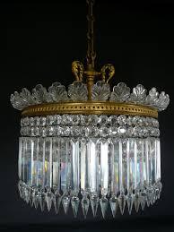 pretty crystal teardrop chandelier earrings