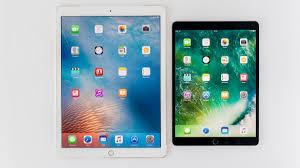 ipad size comparison ipad pro 10 5in 2017 vs ipad pro 12 9in 2017 comparison review