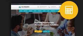 Html Website Templates Mesmerizing 28 Best HTML Financial Website Templates 28
