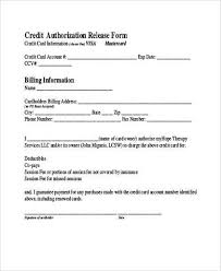 Credit Card Release Form Credit Card Release Form Rome Fontanacountryinn Com