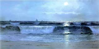 seascape alfred thompson bricher oil painting