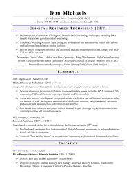 entry levle entry level research technician resume sample monster com