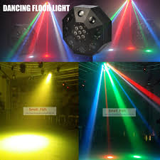Eyourlife Dj Lights Us 166 0 17 Off Eyourlife Free Shipping 2019 New Led Dancing Floor Light 120w Rgbw Moving Head Stage Lighting Dj Dmx Disco Laser Projector Light In