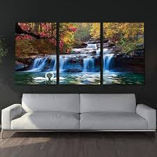 3 piece home decor canvas wall art