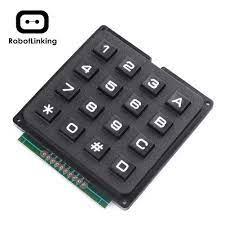4x4 Ma Trận Module 16 Phím Miếng Lót Bàn Phím Ban Chương Trình Điều Khiển  Tín Hiệu Thiết Bị Integrated Circuits